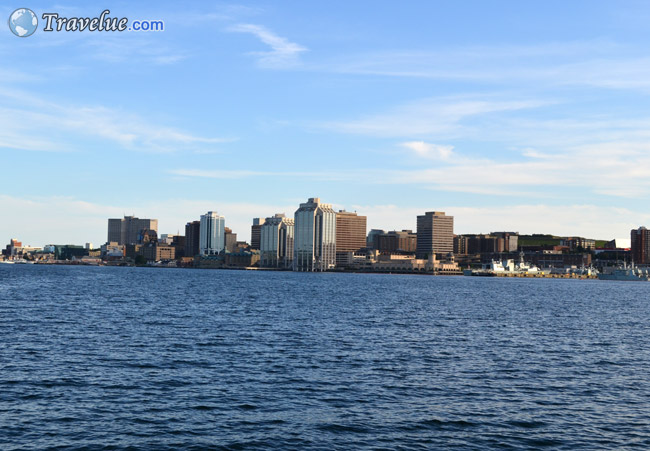 Halifax View From Dartmouth Alderney Landing And Ferry Park Terminal
