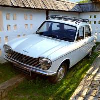 White Peugeot