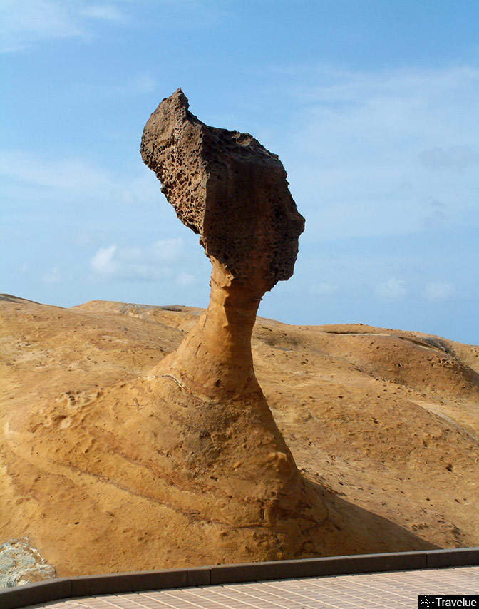 Queen Nefertiti Rock Yehliu Taiwan