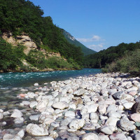River Drina at Wild River Rafting Camp