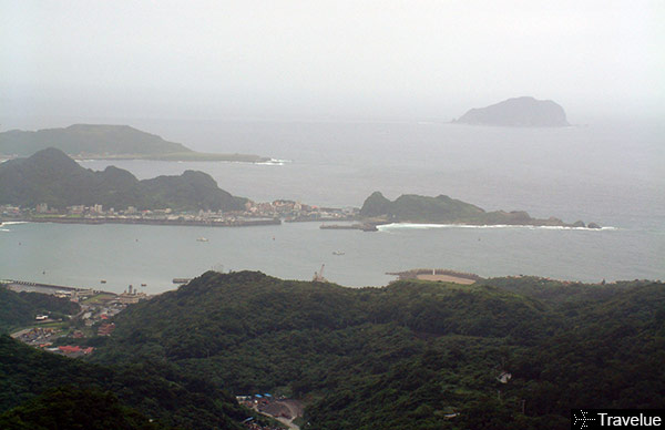 Pacific Ocean view from Jiufen