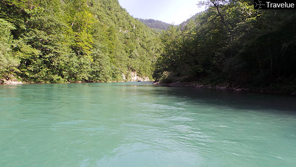 Day 1 of rafting on Tara was a breeze