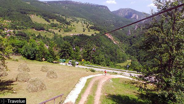 Đurđevića Bridge zip-line