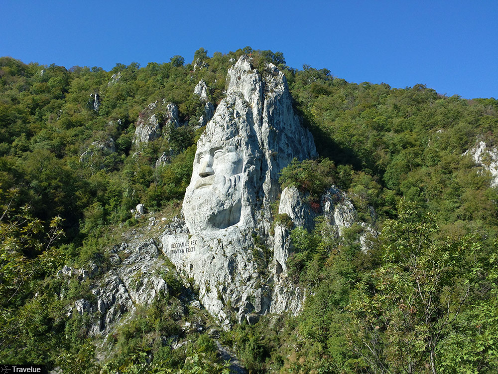 Statue of Dacian King Decebalus