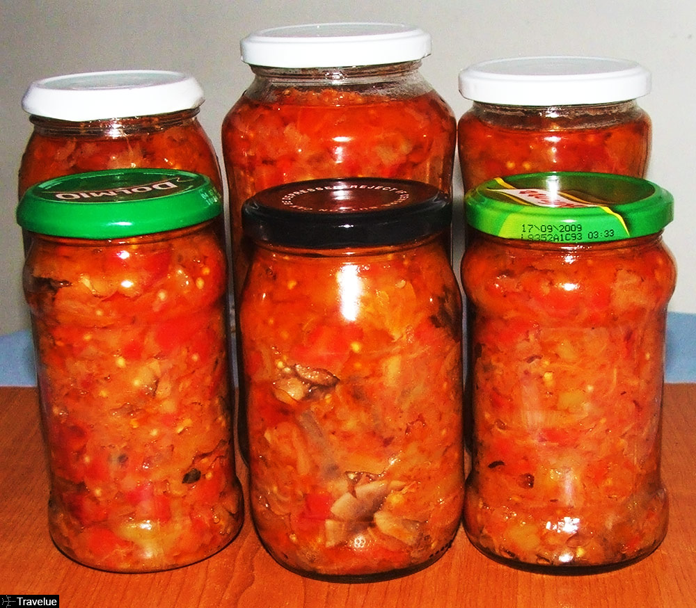 Zacusca - vegetable spread