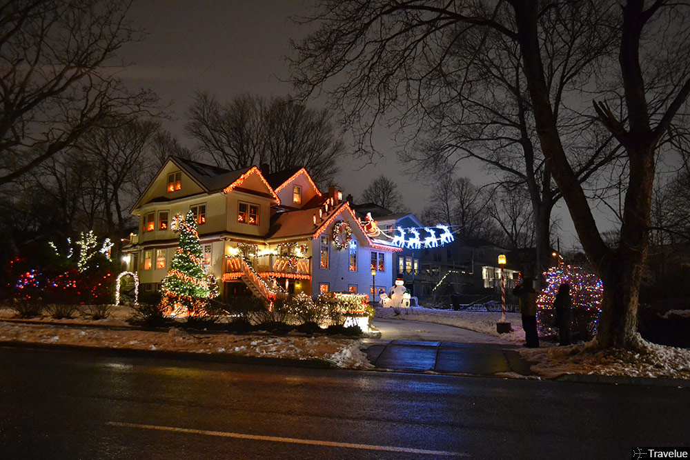 winter in canada doesnt look that bad with christmas decorations eh