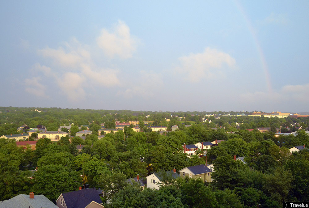 The rainbow after the rain